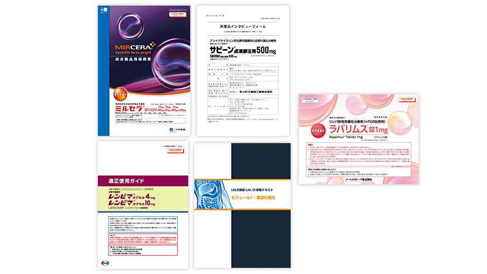 Planning and producing basic sales promotion materials required for a new drug launch